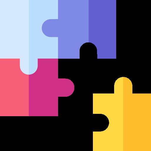 Puzzle icon color