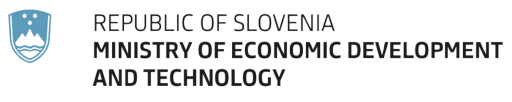 Ministry of Economic Development and Technology Slovenia logo